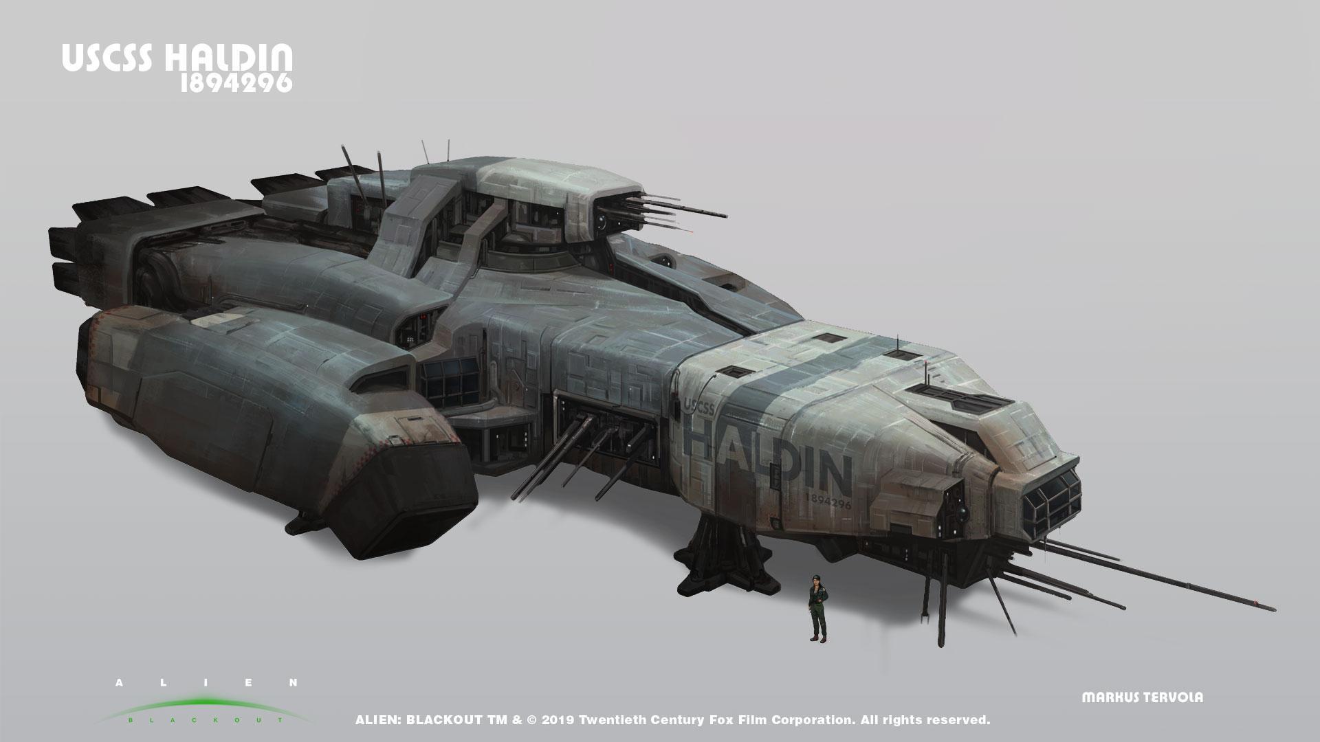 Alien: Blackout USCSS Haldin