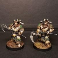 Legion tactical squad sergeants with Legion honours