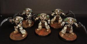 Deathshroud Terminator squad