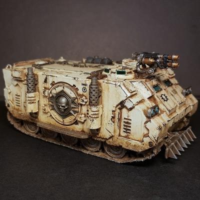 Legion Rhino armored transport
