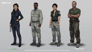 Alien: Blackout Haldin crew alt