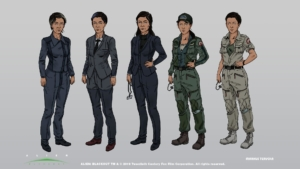 Alien: Blackout costumes